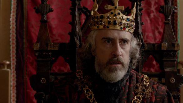 King Henry VI portrayed by David Shelley