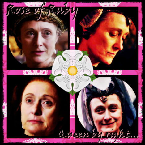 Duchess Cecily played by Caroline Goddall in 'The White Queen'