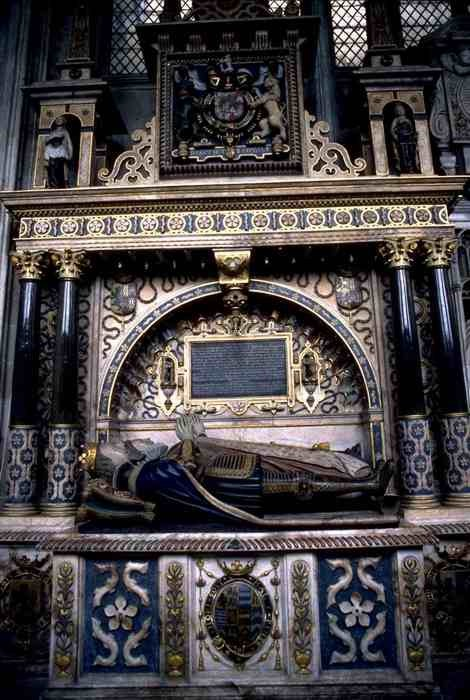 Lord Robert Dudley, Earl of Leicester and favorite of Elizabeth I was also buried in St. Mary's in September of 1588.