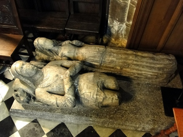 Effigy of the Earl of Derby and Lady Stanley [Lady Eleanor Neville].