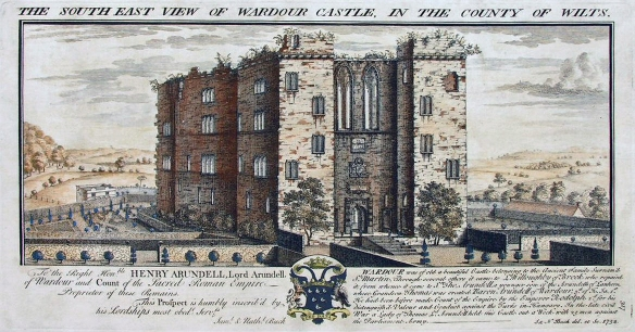Old Wardour Castle Buck 1733