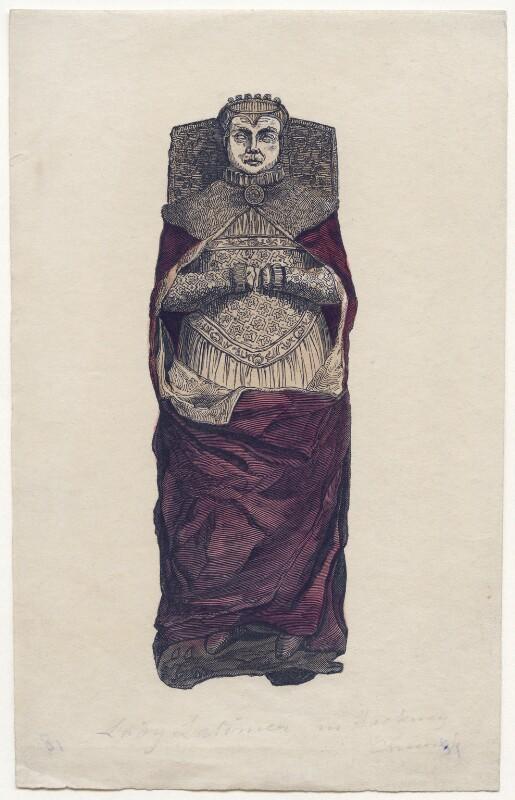 Lucy Somerset Lady Latimer