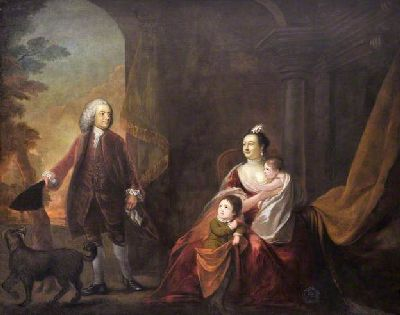 Earl and Countess of Powis